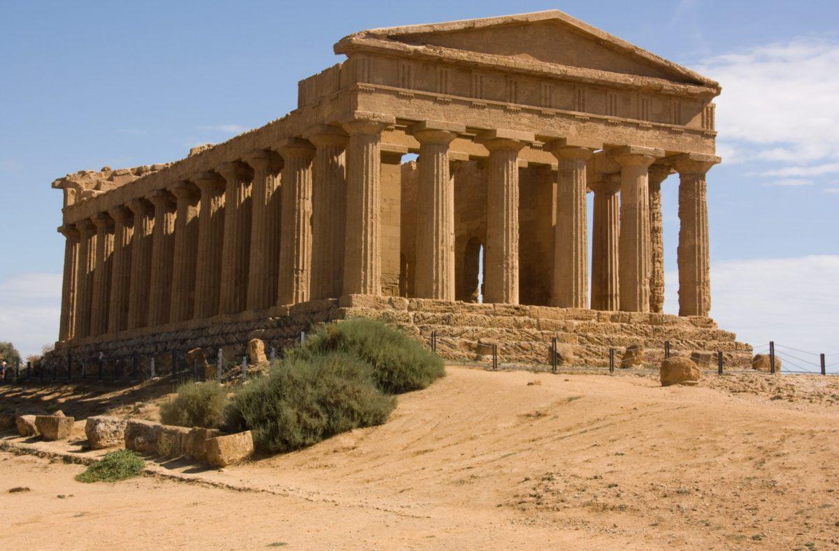 Besuchen Sie die Tempel von Agrigent in Sizilien