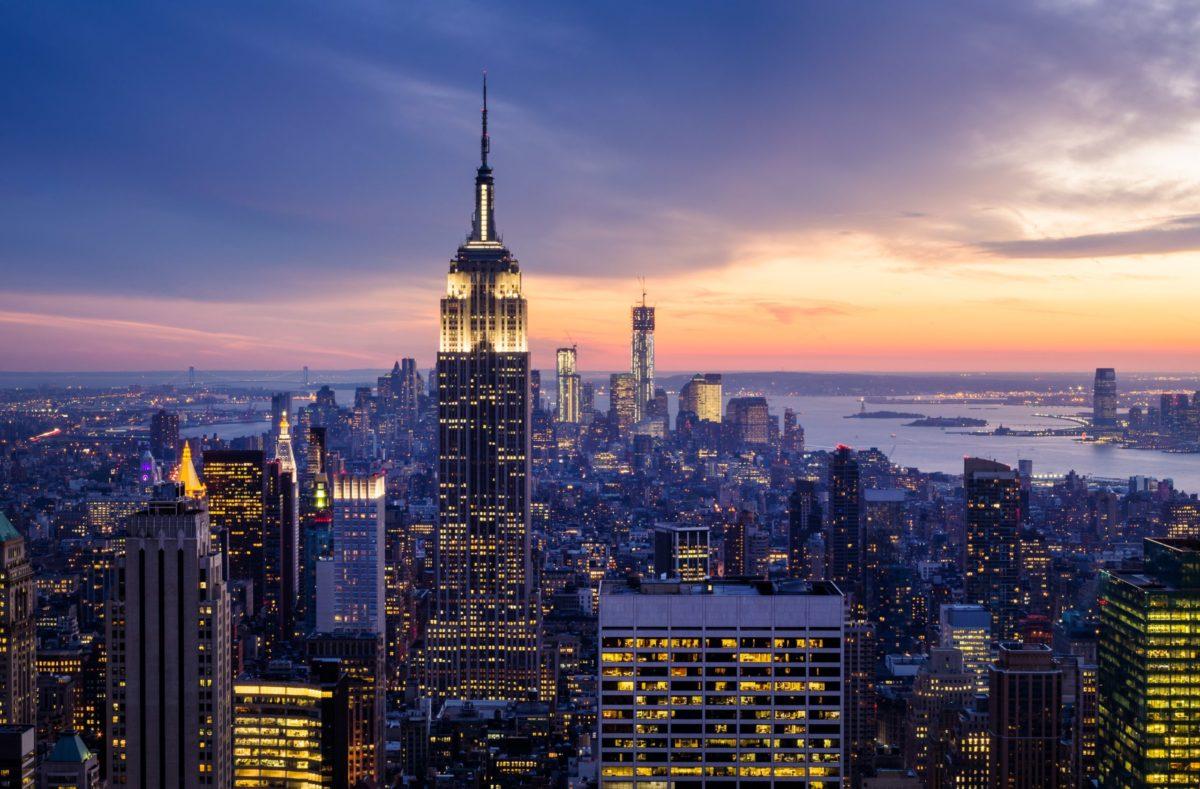 Besuchen Sie New York und besichtigen Sie das Empire State Building