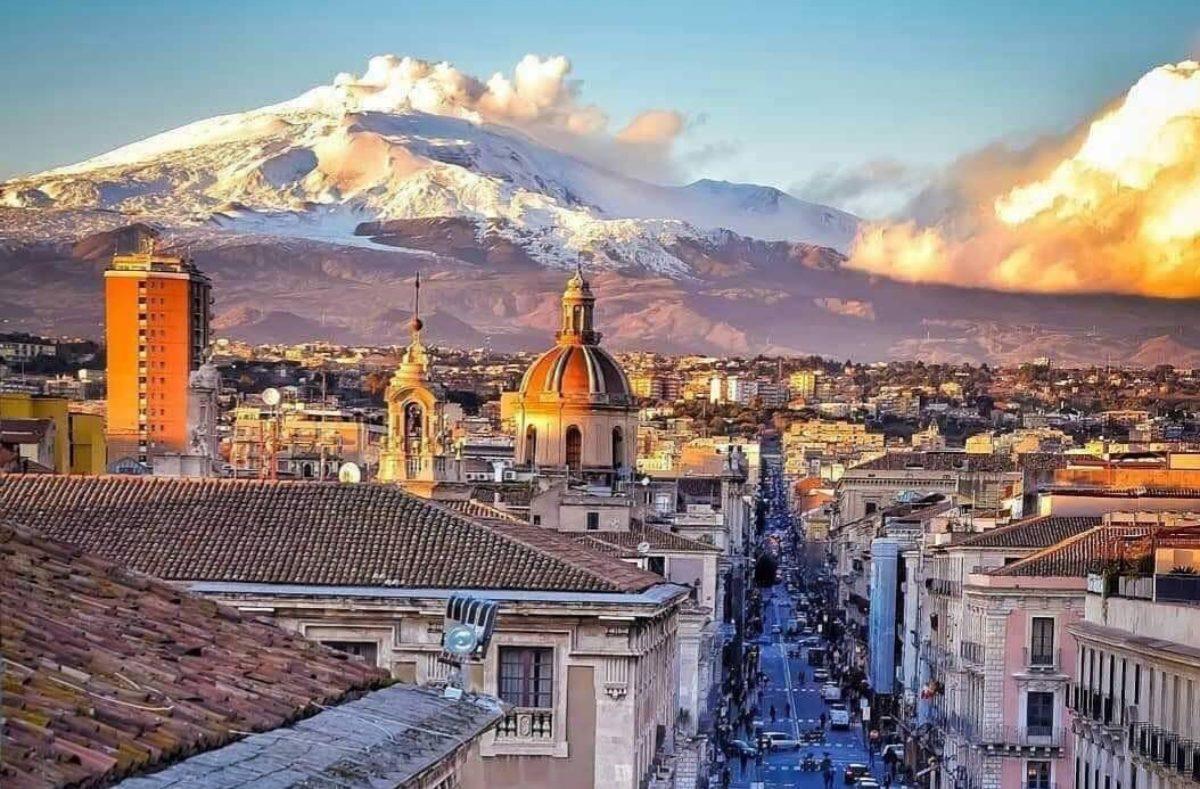 Besuch von Catania und Ätna in Sizilien