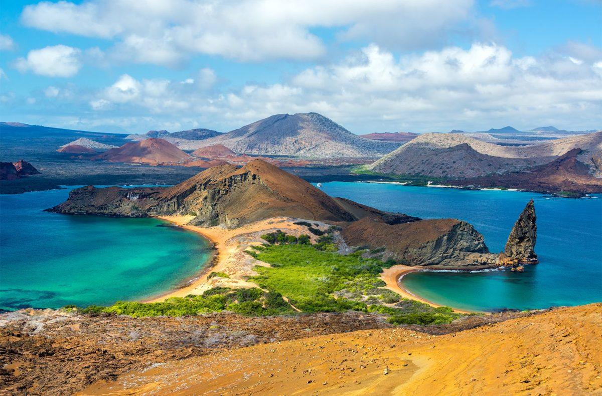 Besuch der Insel Bartolomé in einer organisierten Gruppe auf den Galapagos
