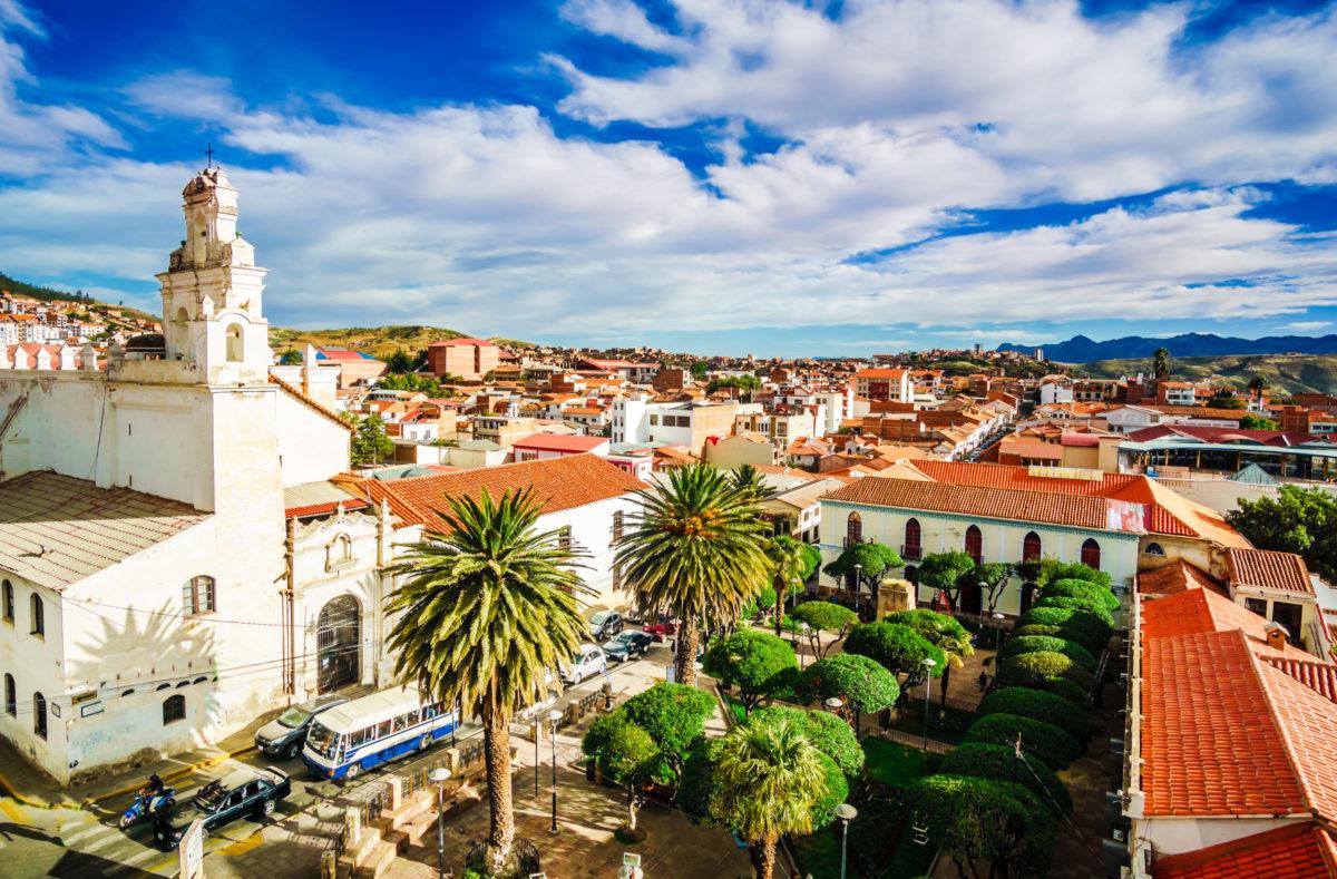 Besuchen Sie die Kolonialstadt Sucre Bolivien