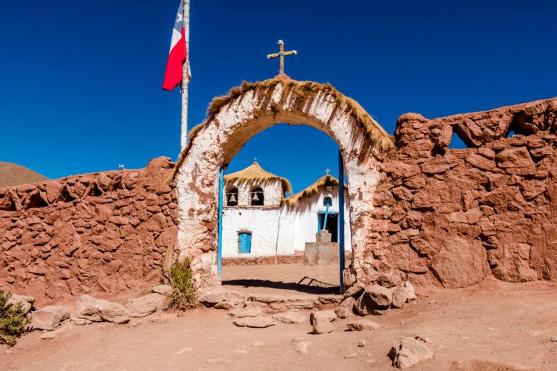 das Dorf Machuca im Herzen der Anden