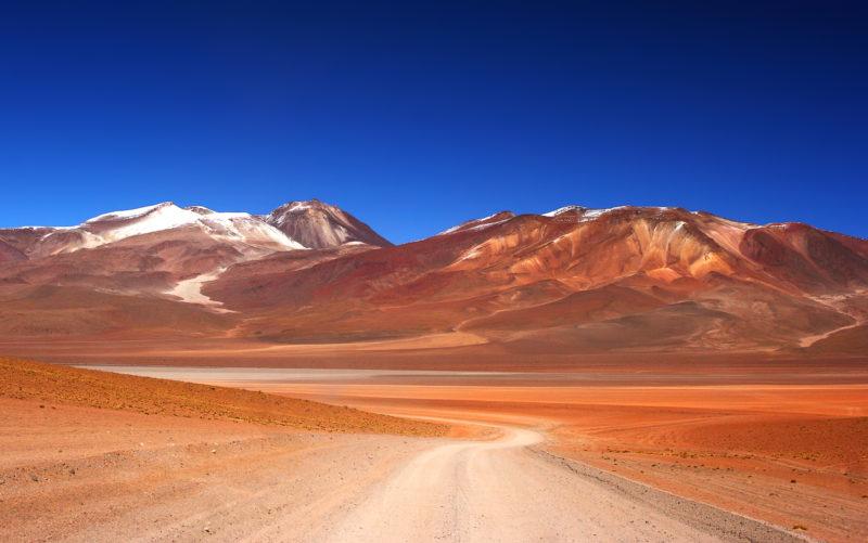 Besuchen Sie die Wüste Salvador Dali Bolivien