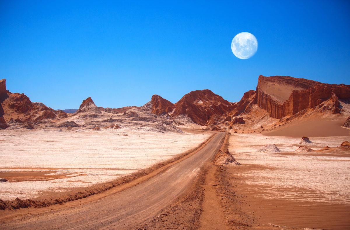 Besuchen Sie das Mondtal Chile