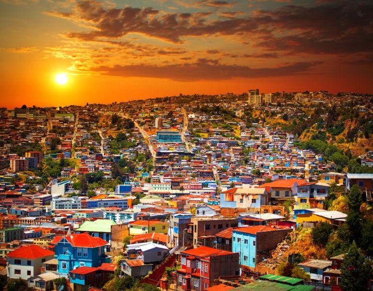 Besuchen Sie Valparaiso in Chile