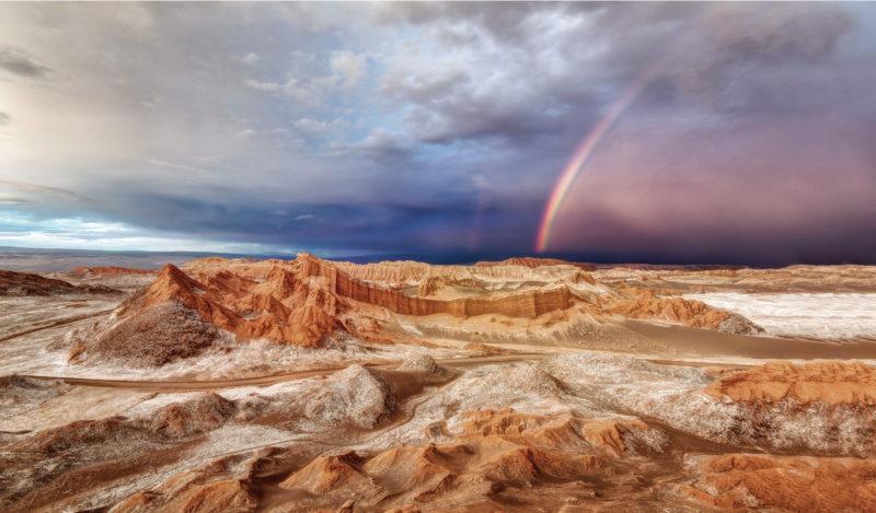 Besuchen Sie das Tal des Mondes in Atacama, Chile