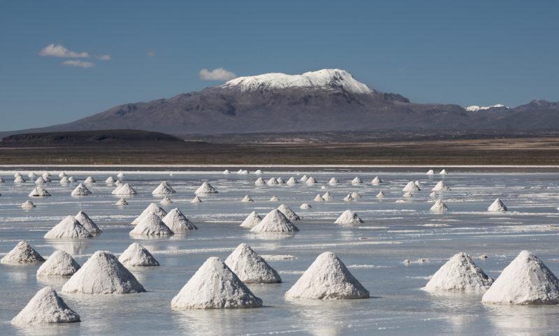 Den Salar d'Uyuni in Bolivien als Gruppe erkunden
