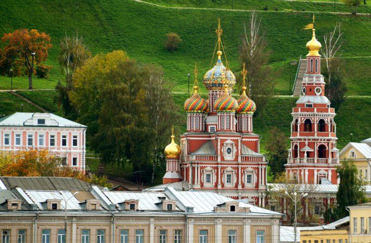 Escale à Nijni Novgorod lors de la croisière sur la Volga