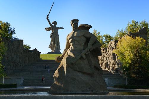 Escale à Volgograd lors d'une croisière sur la Volga