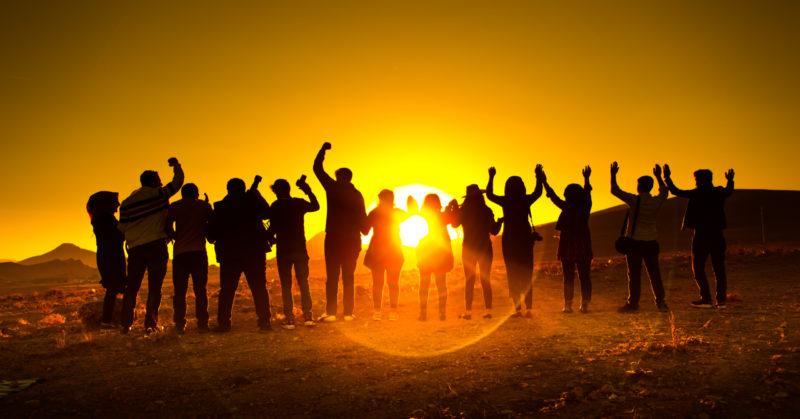 Wahl einer organisierten Gruppenreise