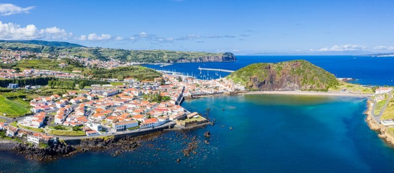 Horta Faial Gruppenreise nach den Azoren