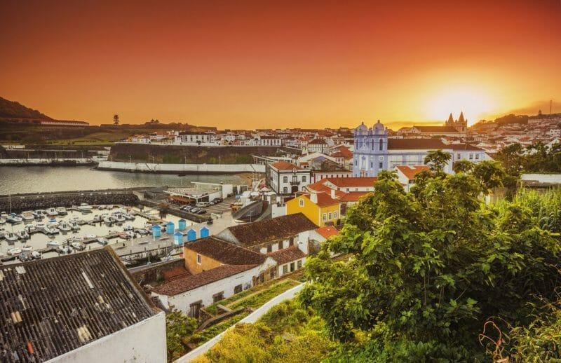 Angra de Heroismo Gruppenreise nach den Azoren