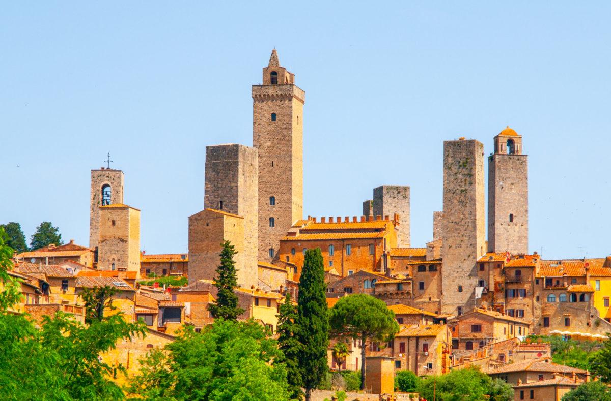 Besuch von San Gimignano in der Toskana
