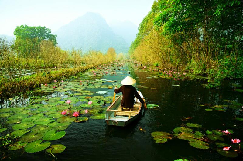 Den Fluss Yen Gruppenreisen Vietnam