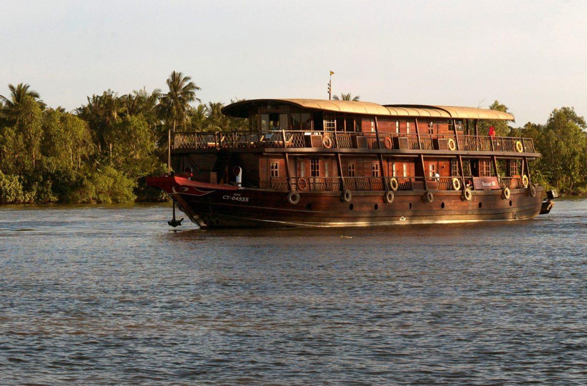 Besuch von Bassac Südvietnam-Kambodscha