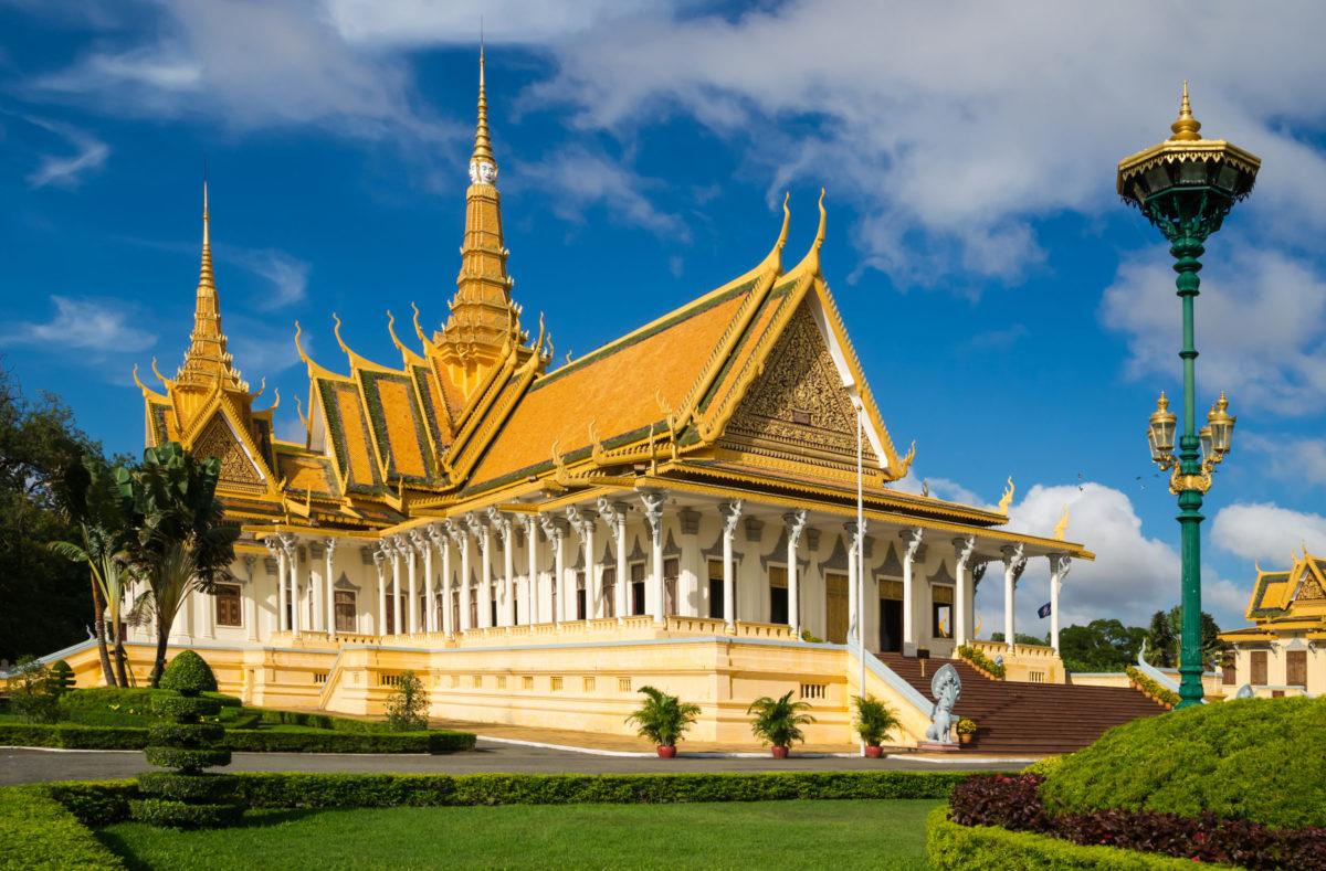 Besuchen Sie die Tempel von Südvietnam-Kambodscha