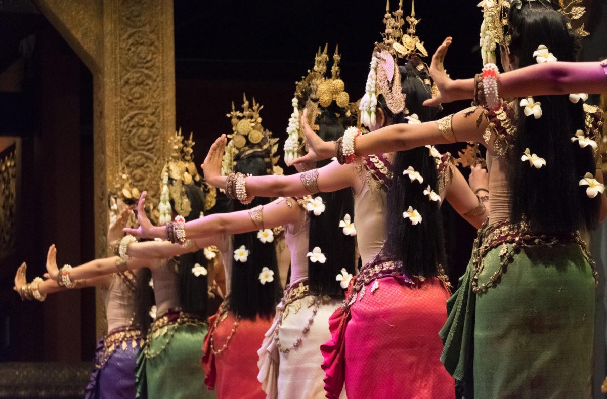 Kunsthandwerkstanz Südvietnam und Kambodscha
