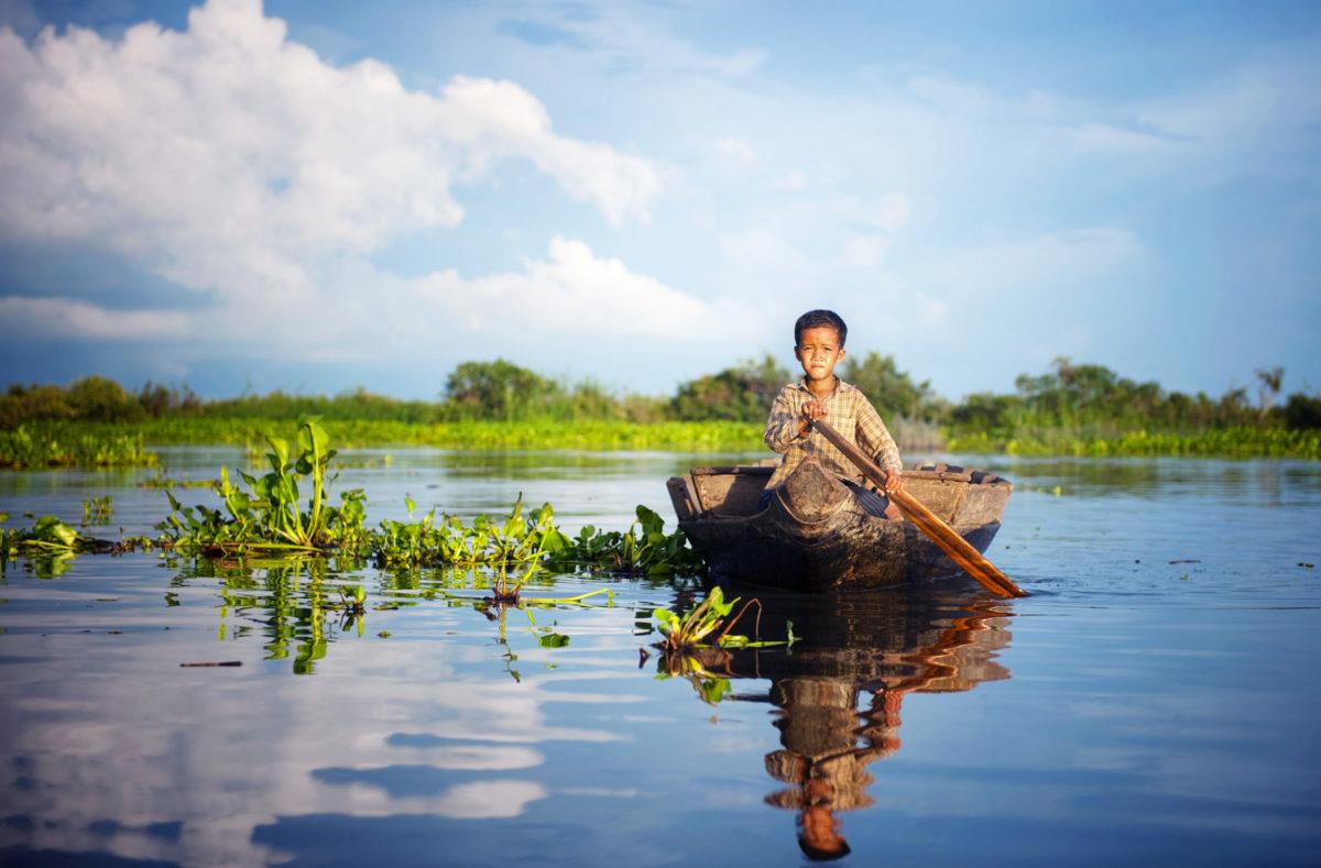 See in Südvietnam und Kambodscha