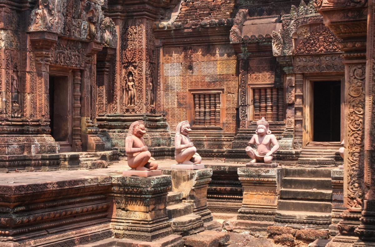 Besuchen Sie die Tempel von Angkor in Kambodscha