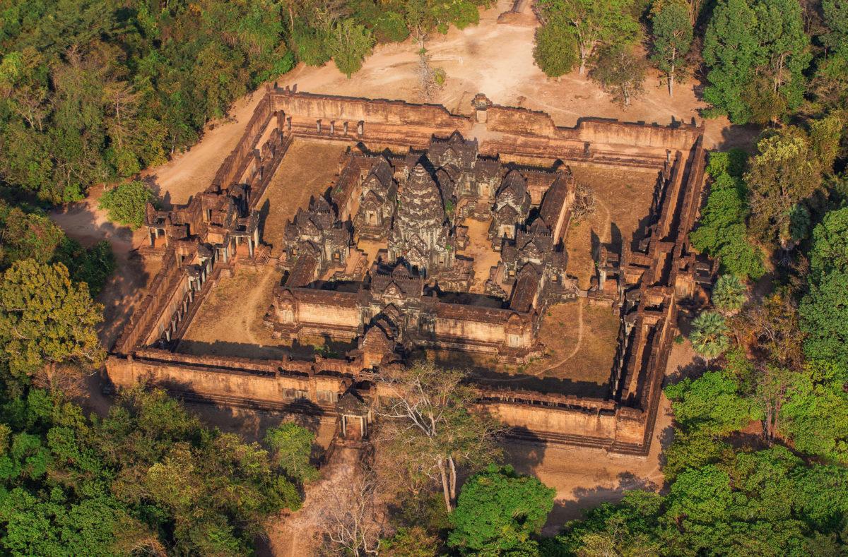 Besuch von Angkor in Kambodscha