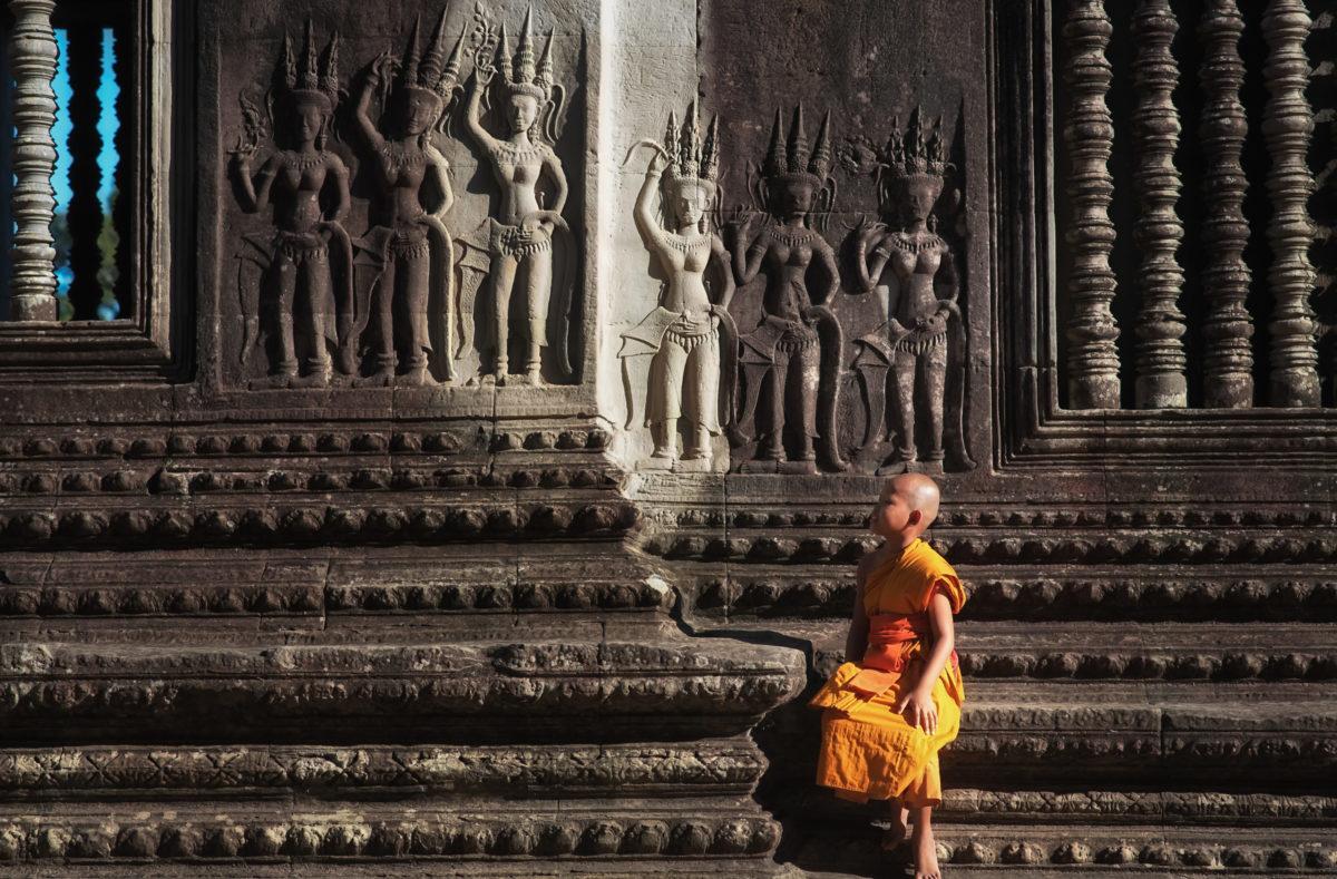 Besuchen Sie die Tempel in Kambodscha
