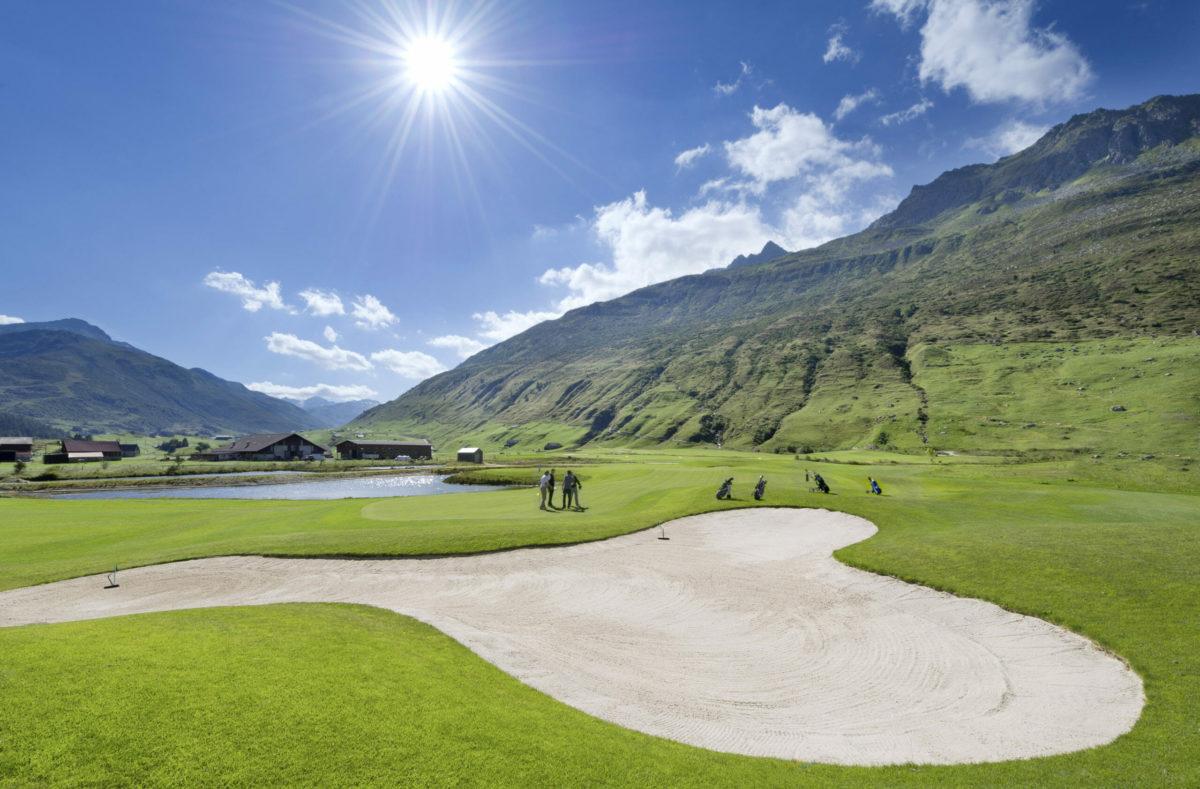 Golfreise Andermatt Golfclub Andermatt Realp
