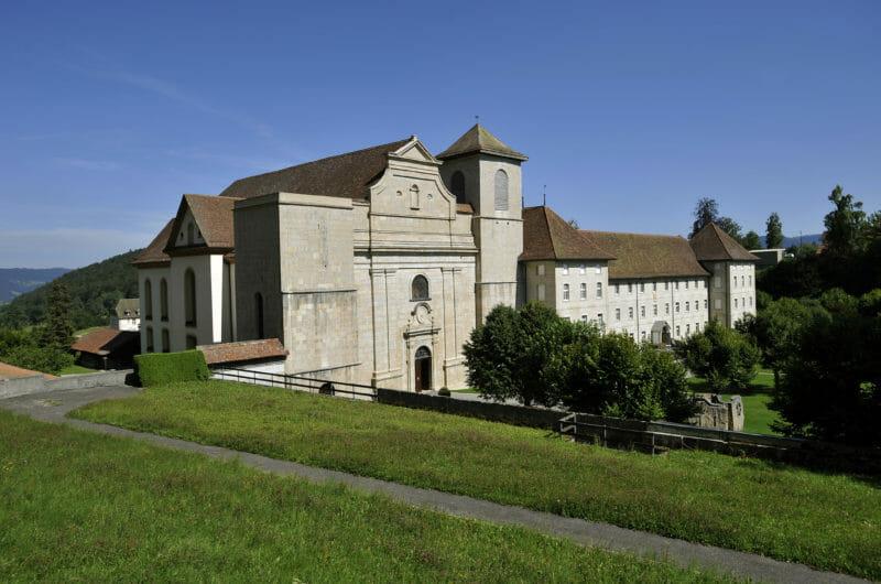 Die ehemalige Abtei von Bellelay