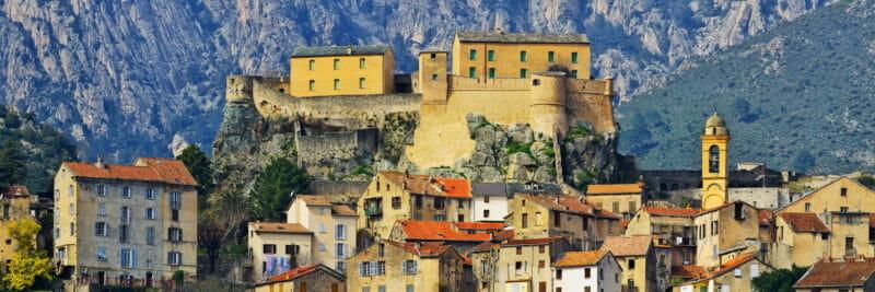 Gruppenbesuche in Corte in Korsika