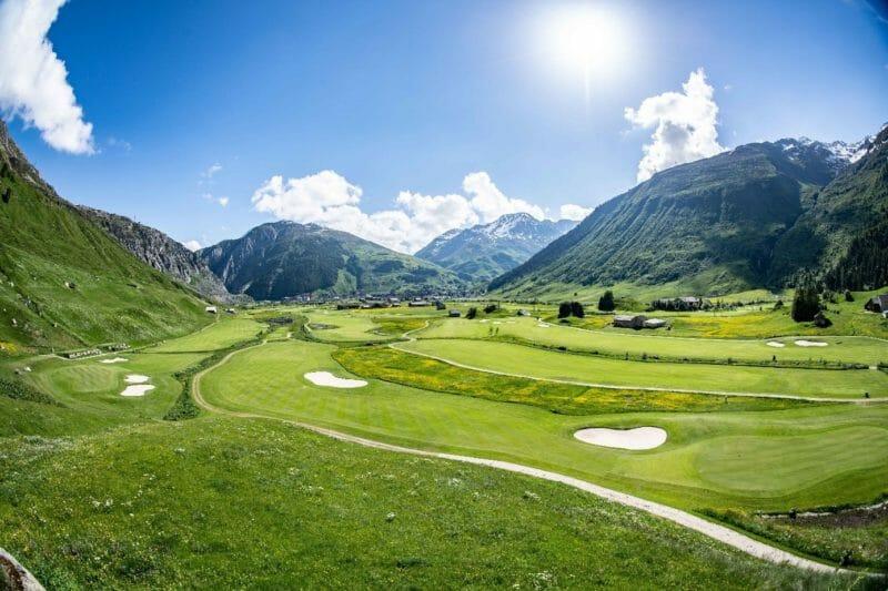 Golfreise Andermatt Urserental