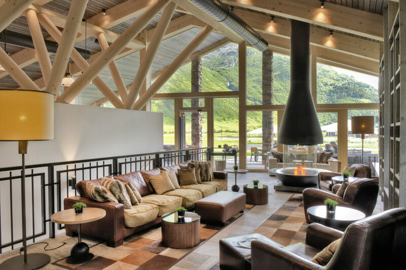 Clubhouse Andermatt Swiss Alps Golf Course
