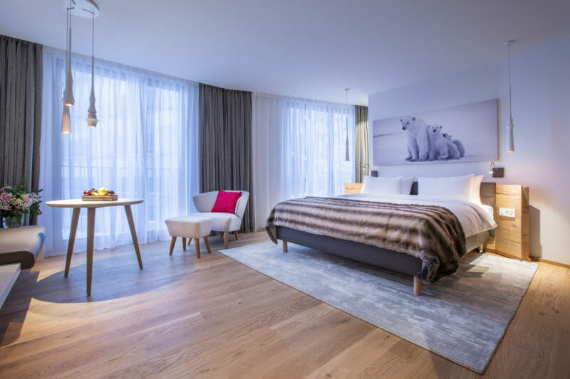 Hotel-Zimmer Radisson Blu Andermatt