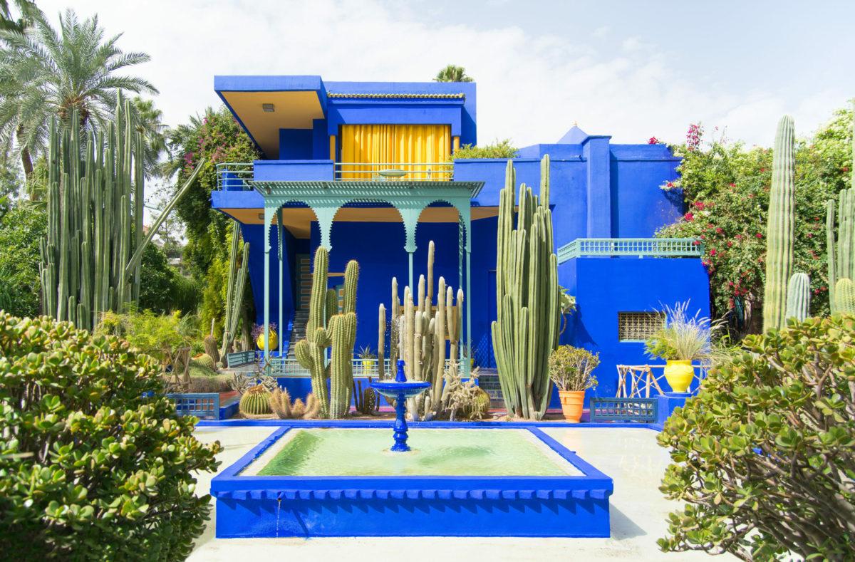 Besuchen Sie den Majorelle-Garten in Marrakech als Gruppe