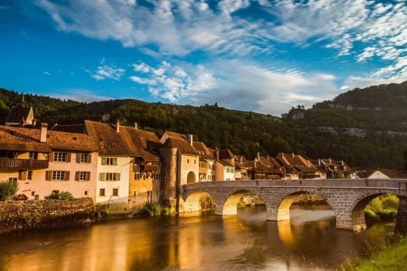 Die mittelalterliche Stadt Saint-Ursanne
