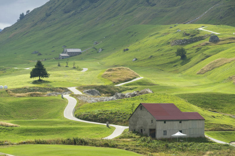 Golfreise Andermatt Tee 14