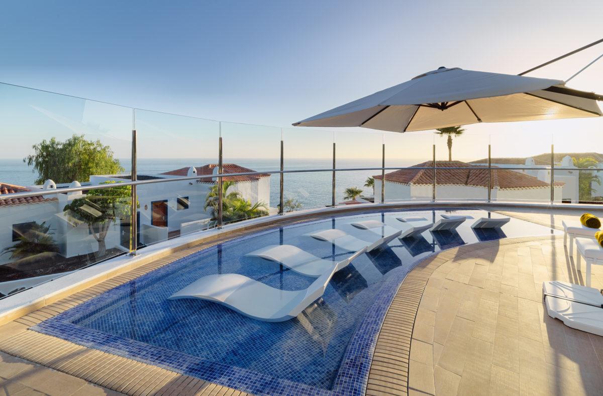 Schwimmbad Hotel La Tecina La Gomera Kanarische Inseln