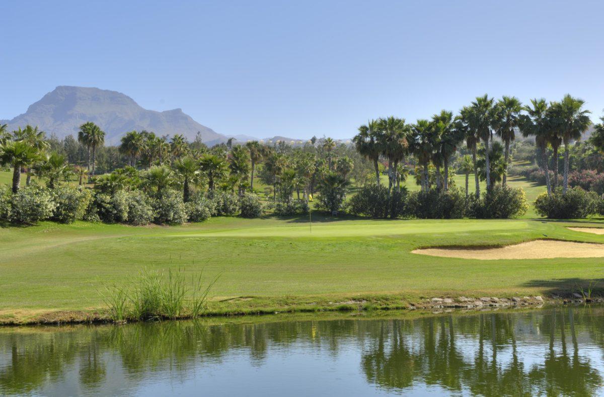 Las Americacs Golf, 3rd Green Golfreise Teneriffa