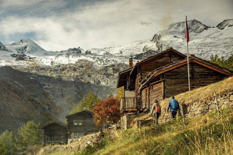 Gruppenreise ins Urchiges Oberwallis Saas-Fee
