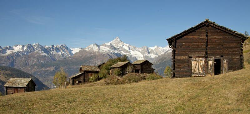 Wandern in Gruppen Suone Beitra Urchiges Oberwallis