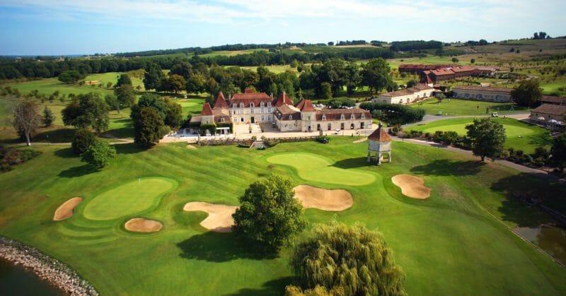 Golfplatz mit Pro in der Dordogne aux Vigiers