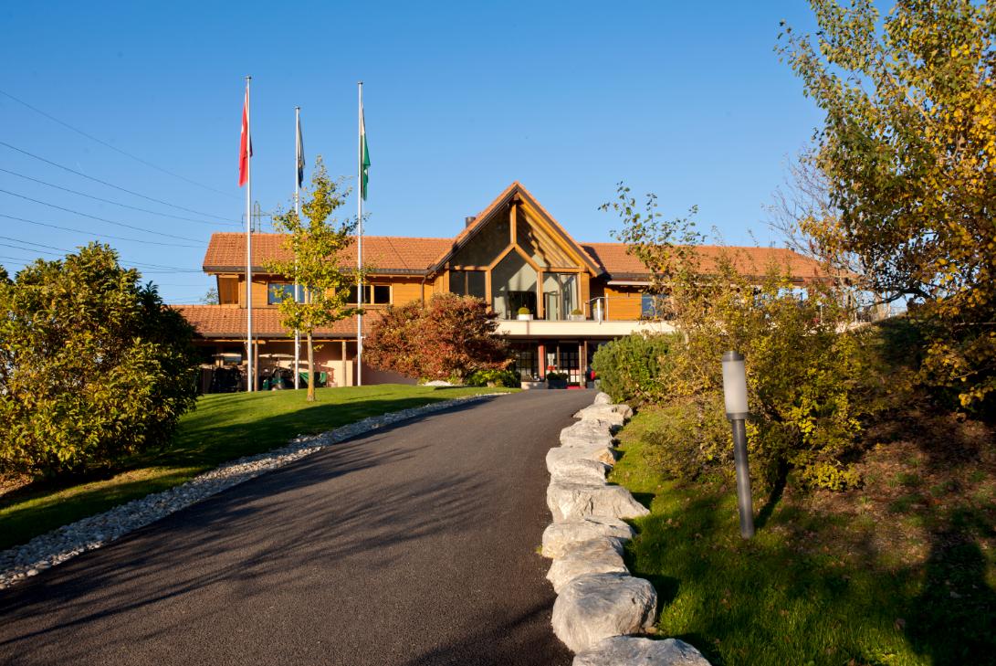 Club House vom Lavaux Golf