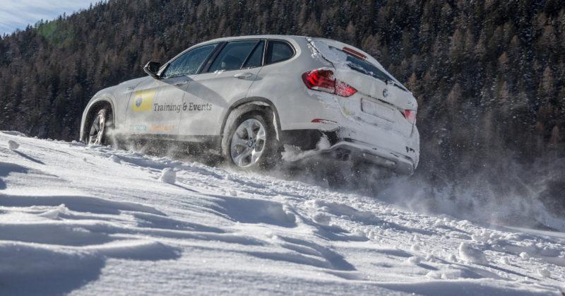 Winterfahrtraining «Schnee und Eis» & Schneeschuh-Wanderung