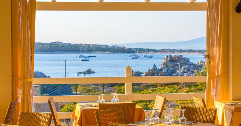 Restaurant Club Cala Blu Sardinien