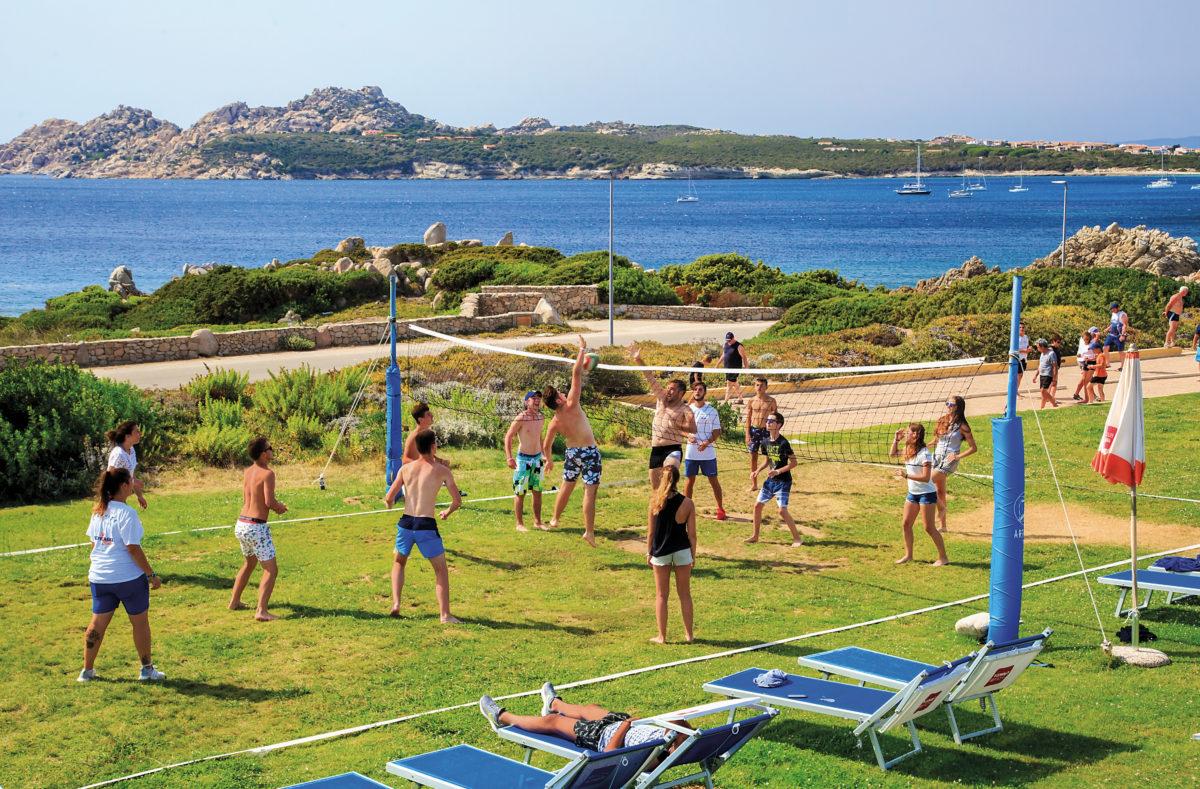 Sportliche Aktivitäten Club Cala Blu Sardinia