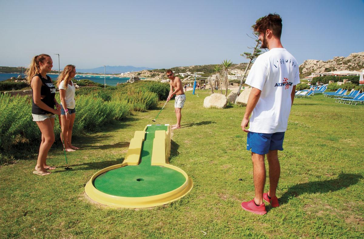 Mini Golf Club Cala Blu Sardinien