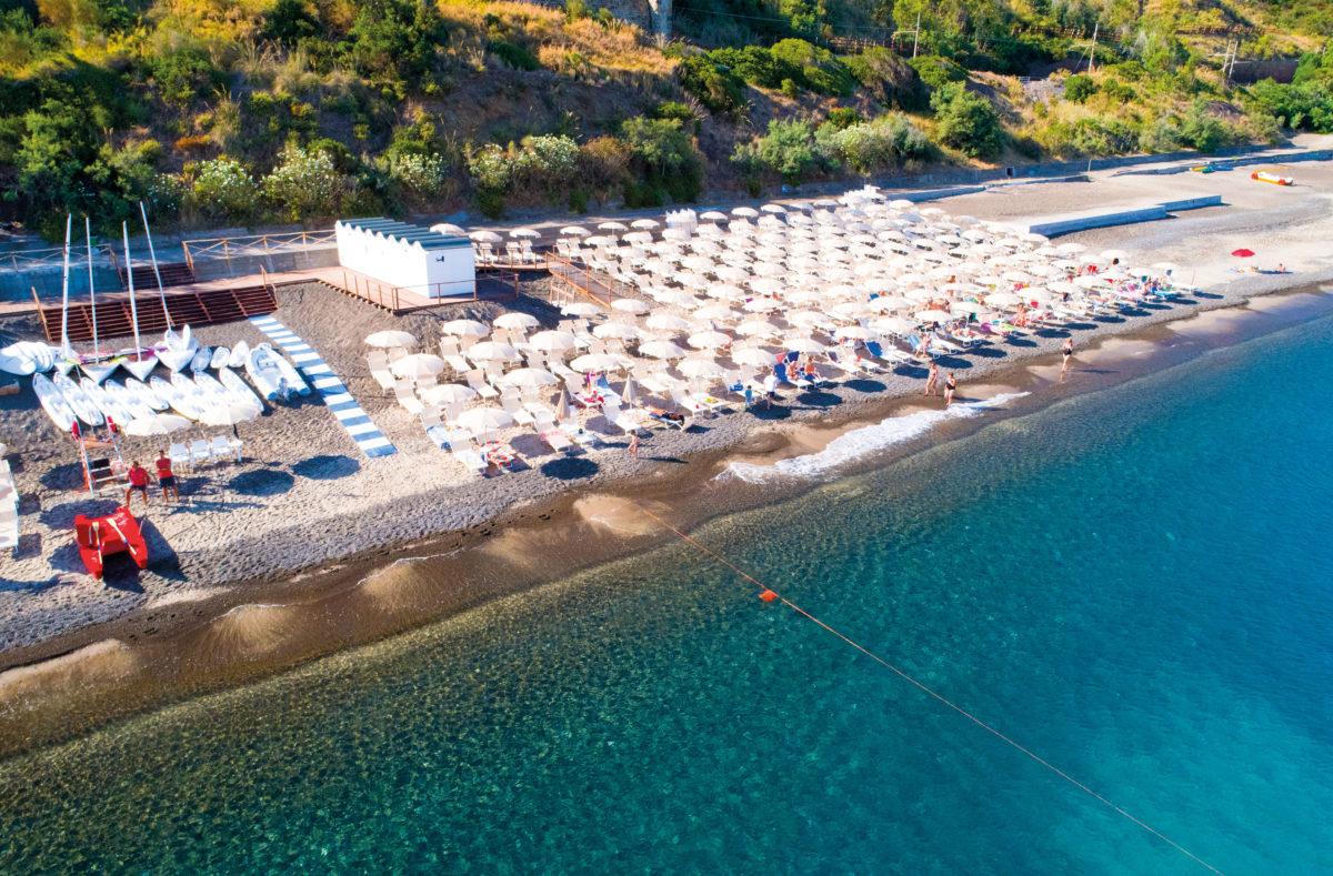 Strand Pollina Resort Strandurlaub Sizilien