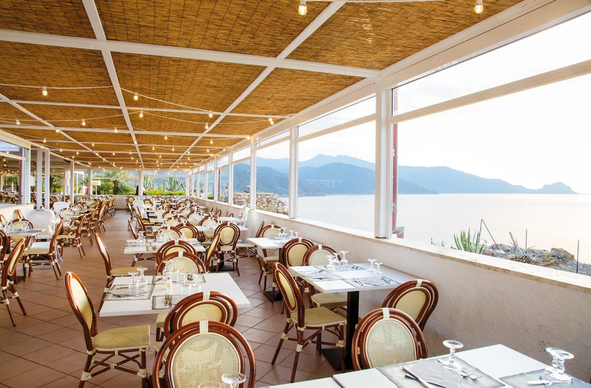 Restaurant Pollina Resort Urlaub am Meer Sizilien