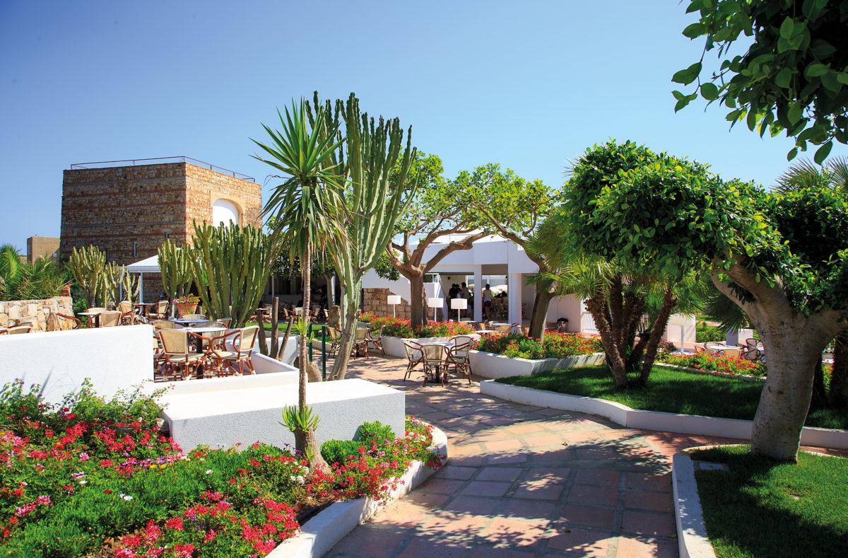 Infrastruktur Pollina Resort Sizilien