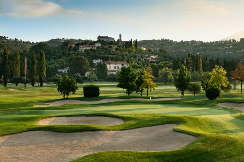 Golf mit Pro im Golf de la Bastide in Frankreich