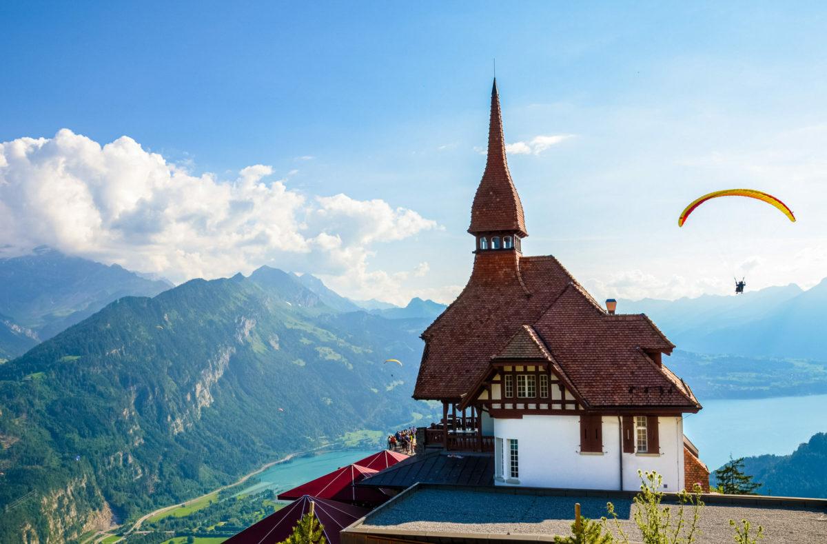 Essen am Harder Kulm in der Zentralschweiz