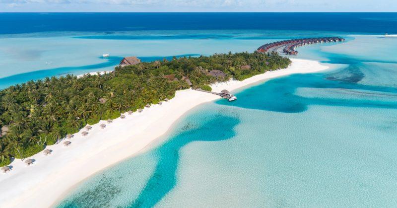 Strand und Lagune Anantara Dhigu Maldives Resort